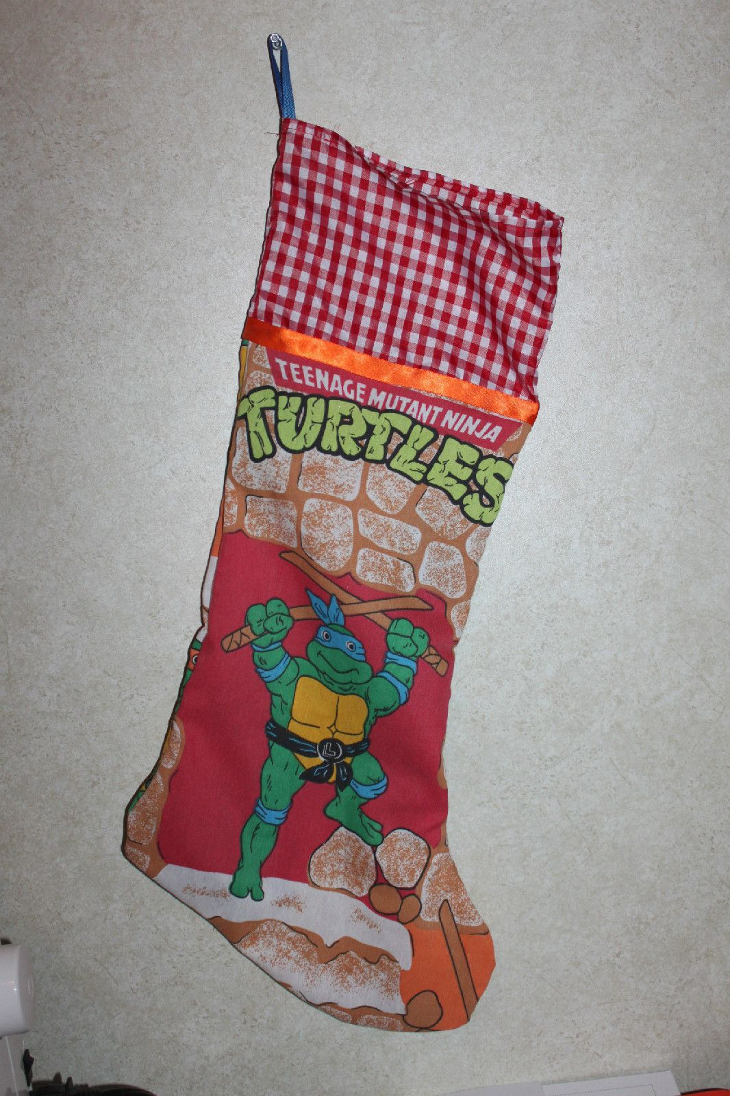 Teenage Mutant Ninja Turtles Handmade NEW Christmas Stocking ...
