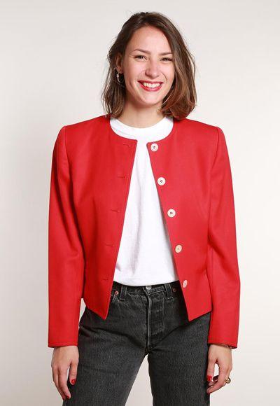 60e29ee8da6bf0 Gdzie kupić używane ubrania w Internecie? | Vintage | Ubrania, Butik ...