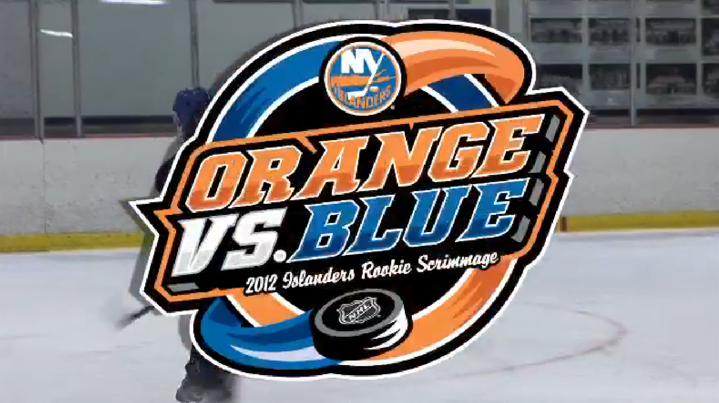 Need a hockey fix? Watch the Isles prospects face off in the 2012 Orange vs Blue Scrimmage.