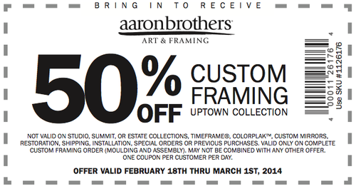 Magnificent Aaron Brothers Custom Framing Cost Elaboration - Frames ...