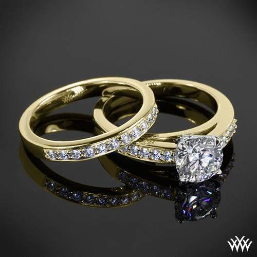 Flush-Fit Diamond Wedding Set   1769