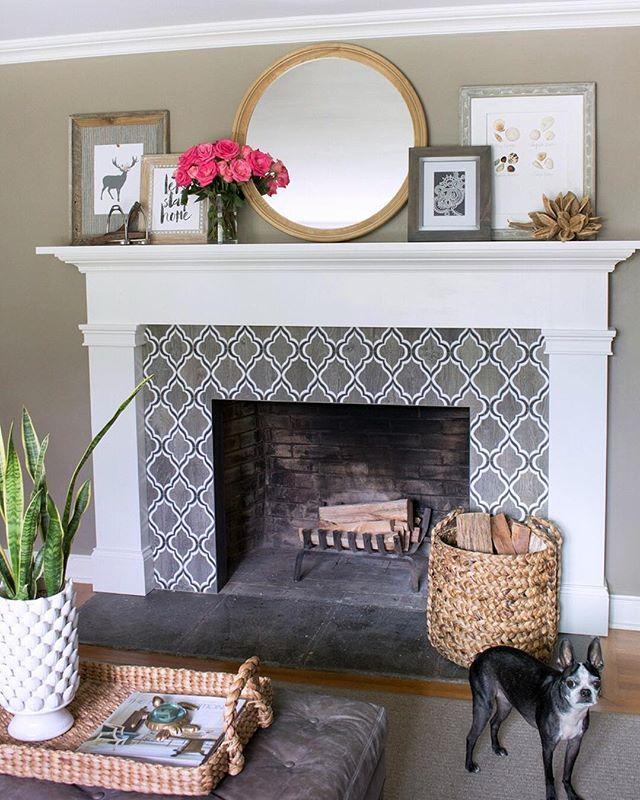 21++ Fireplace tile ideas 2019 inspirations