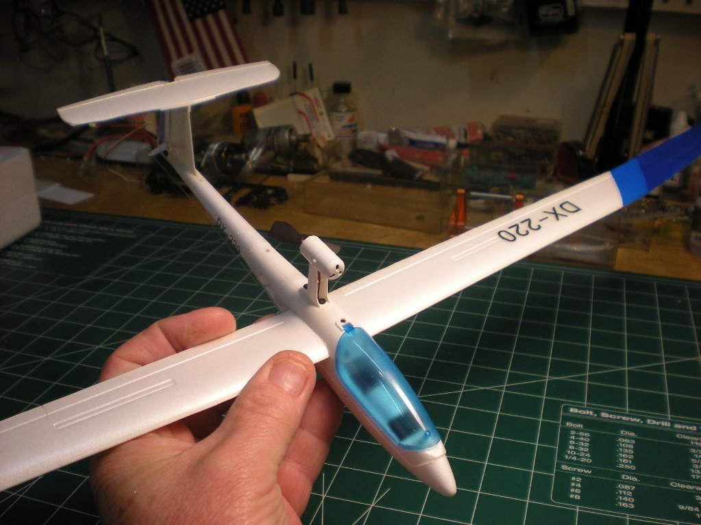 RC Glider Plans | 103001 RC Soaring (1) | Model airplanes, Airplane