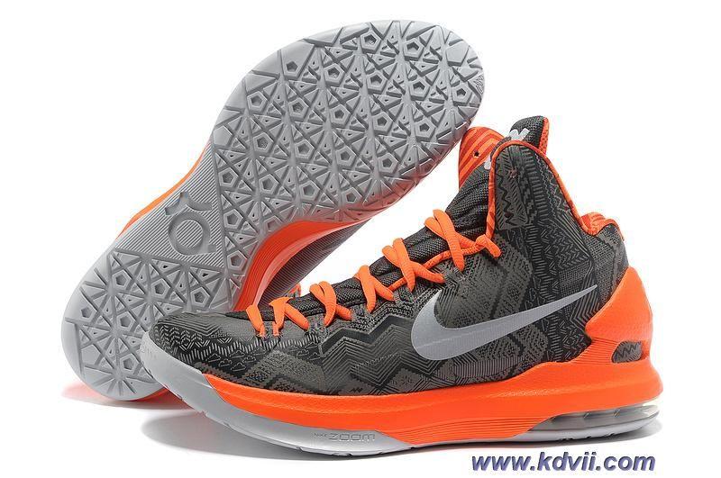 Grey Orange 583107 001 BHM Black History Month Nike KD V Sale � Lebron  11Nike ...