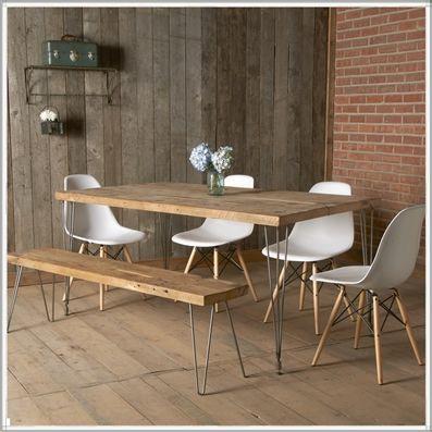Urban Loft Reclaimed Wood Dining Table Reclaimed Wood Dining Table Modern Kitchen Tables Modern Dining Table