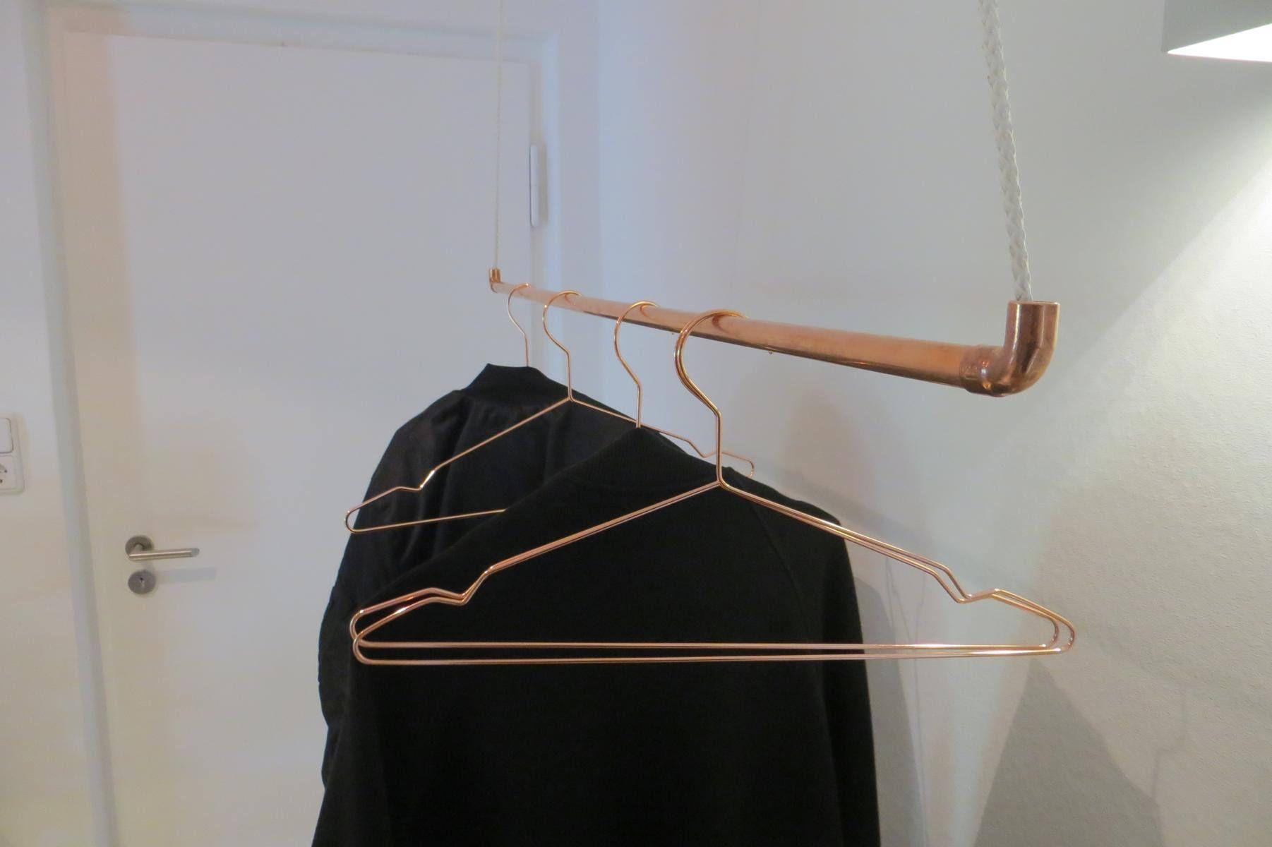 kupfer kleiderstange swalif. Black Bedroom Furniture Sets. Home Design Ideas