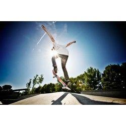 Verano de skate - http://www.fotomurales.es/otros/fotomural-verano-de-skate.html