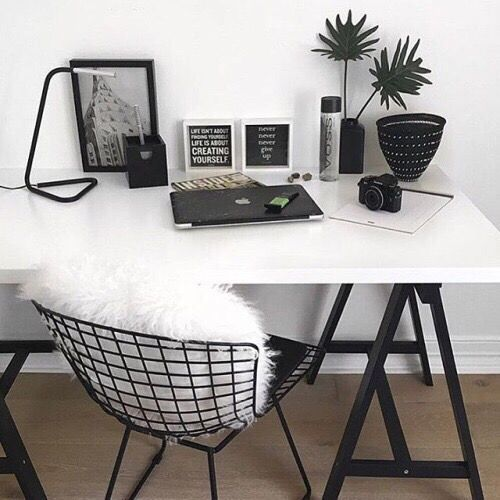 Sleek Minimal Desk Decor Worke
