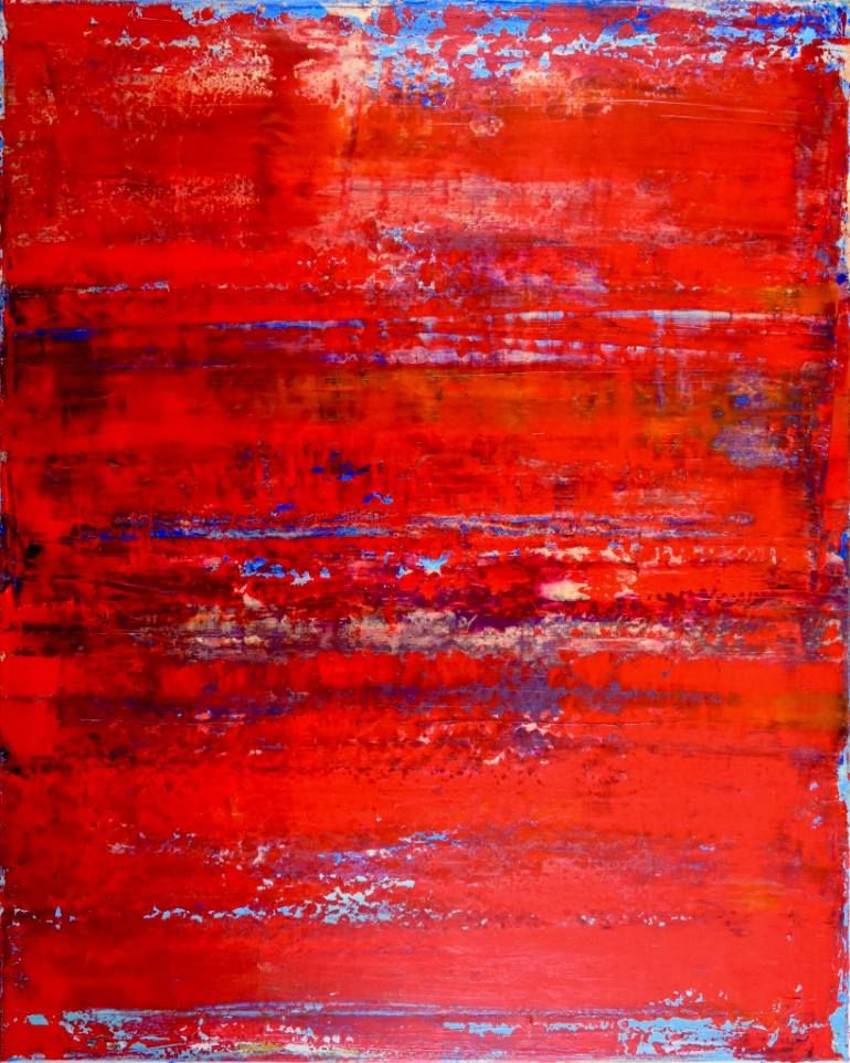 "Saatchi Art Artist Nestor Toro; Painting, ""Petrified Terrain (China)"" #art"