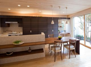 Yahoo 検索 画像 で キッチン ダイニングテーブル 一体 を検索すれ