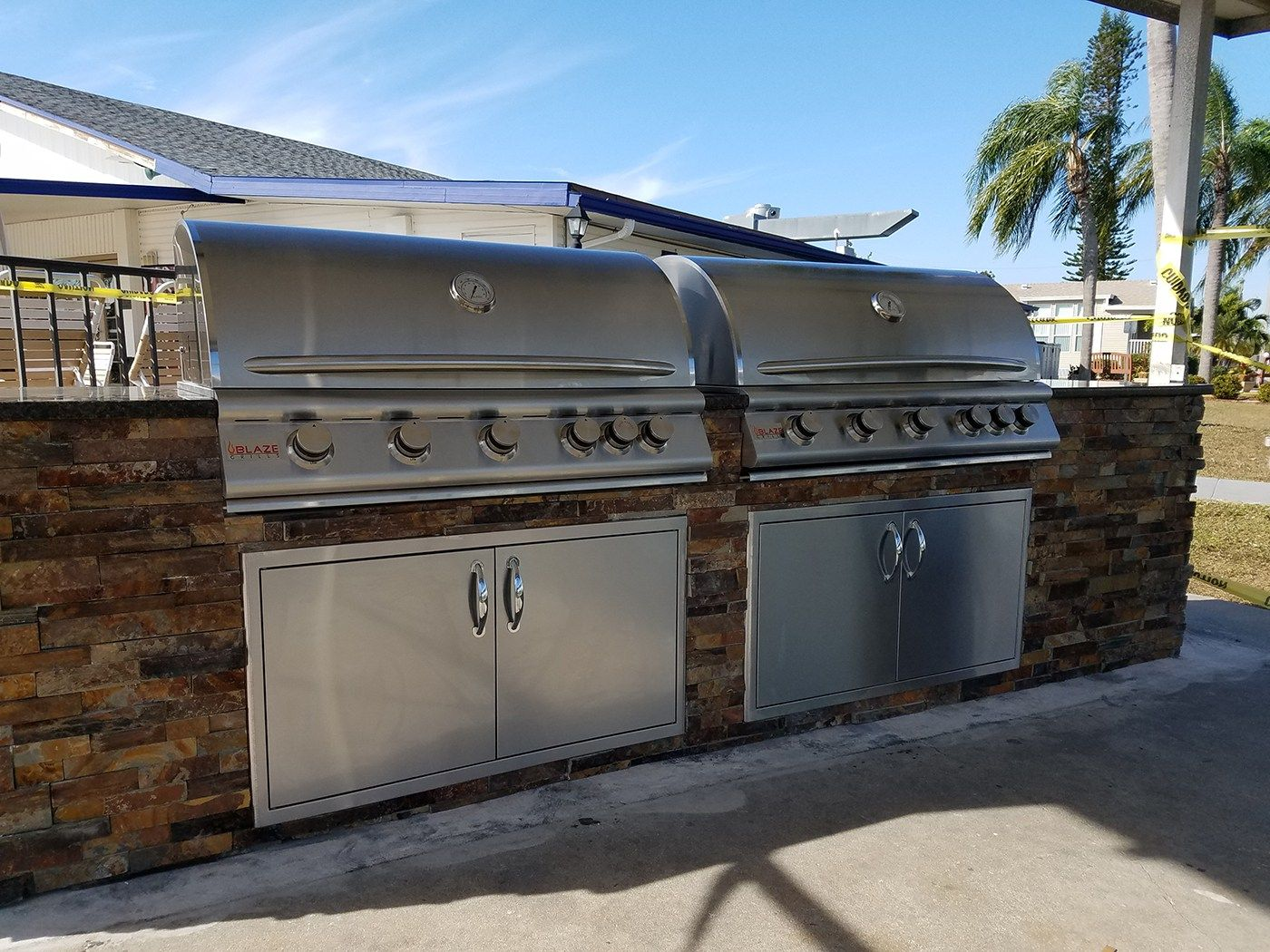 """Dueling Grills """"The Sequel"""" Custom Commercial HOA"""