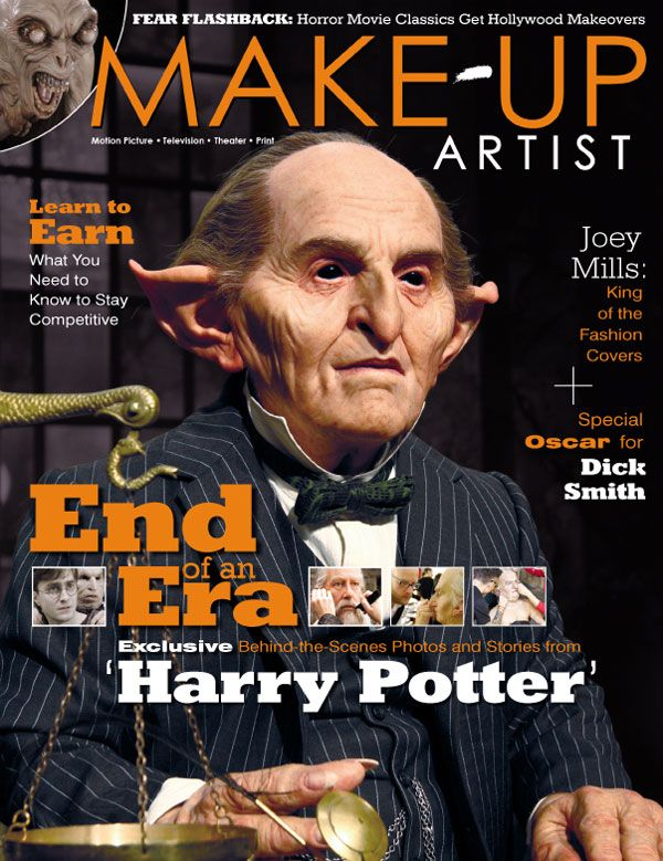 Issue No. 92 (Cover 1) End of an Era Harry Potter, Make