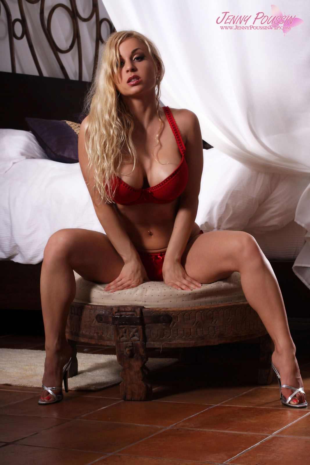 jenny poussin preview of her set hotel suite. | knock out women