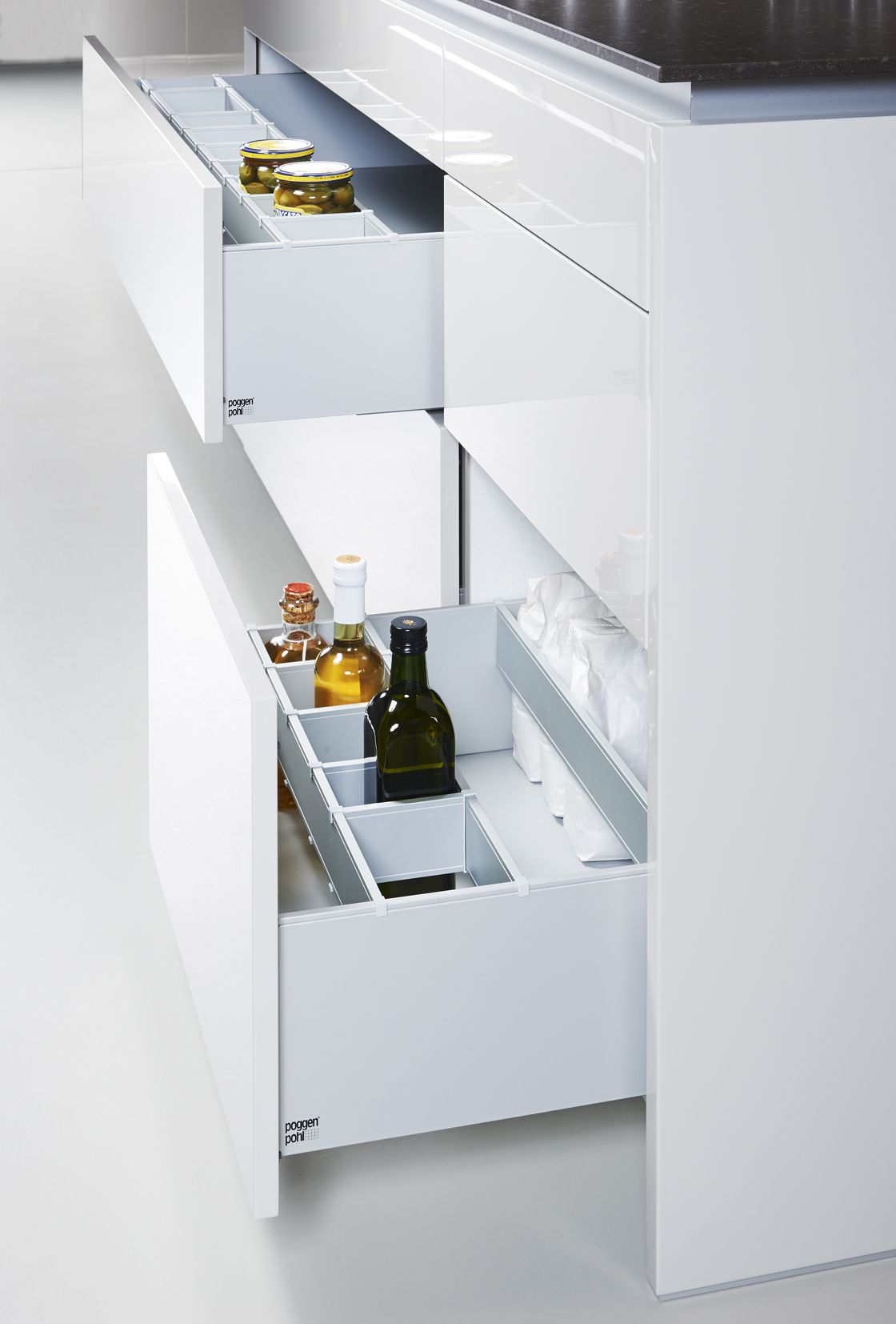 no handles.   PROJECT: Coldharbour   Pinterest   Modern drawers ...