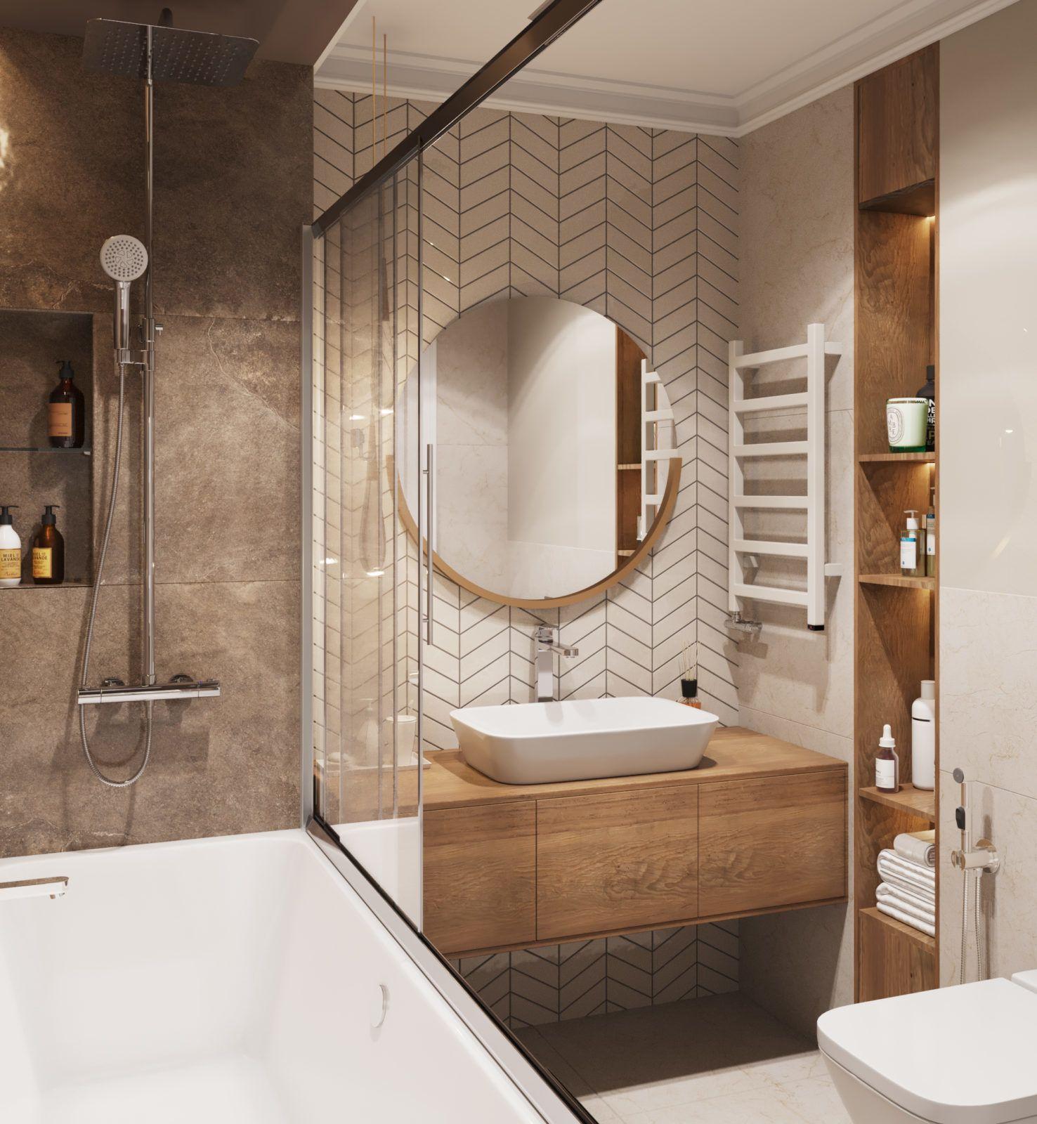 Дизайн трехкомнатной квартиры в ЖК Легенда Комендантского - Mudryakova.ru