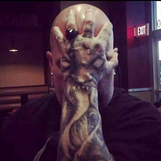 Kerry King Tattoo Hledat Googlem: Kerry King-Slayer