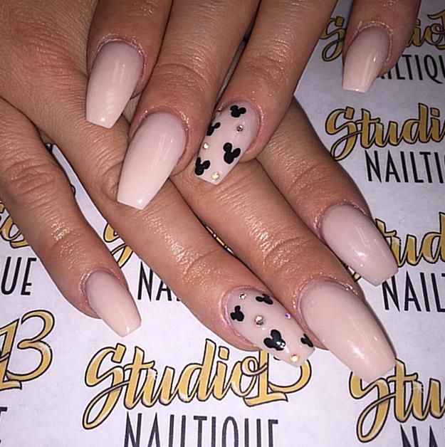 If youre looking for the best Disney manicure inspiration these nail art ideas a…