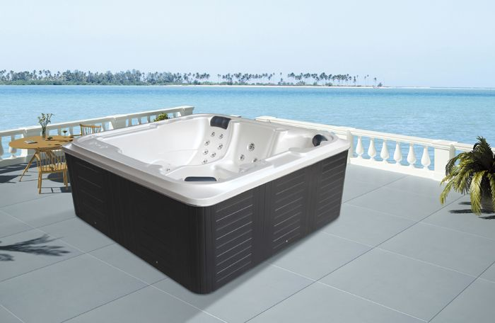 Monalisa M-3363 Western style massage hot tub whirlpool tub outdoor ...