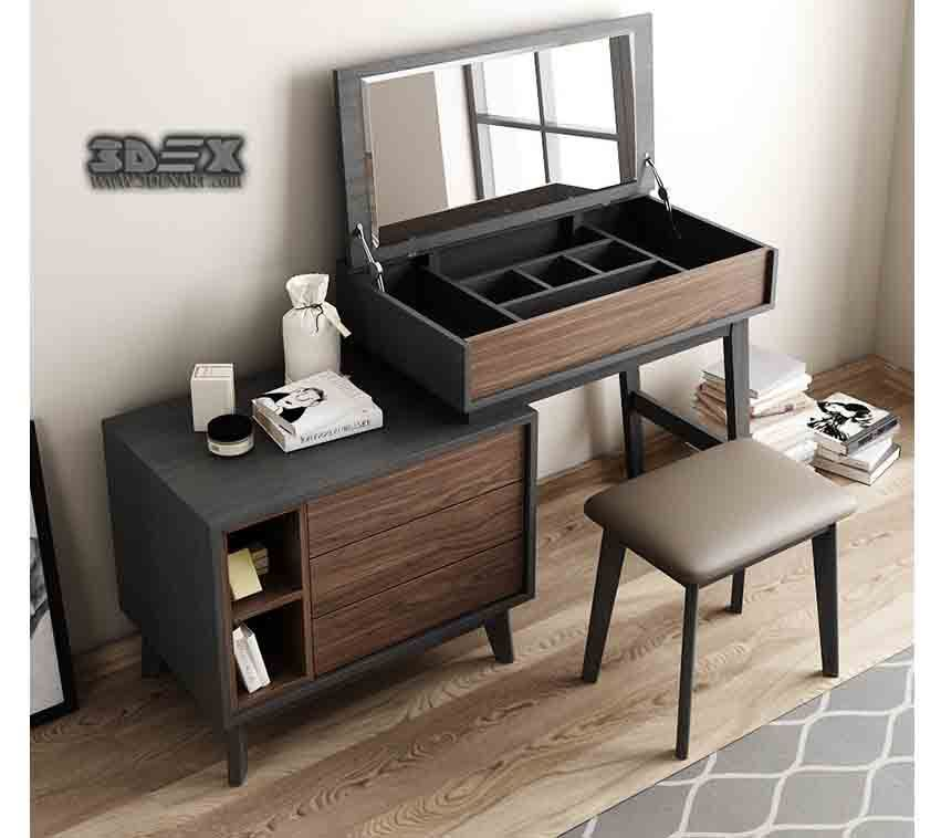 50 Latest Small Dressing Table Designs For Bedroom Interiors 2018