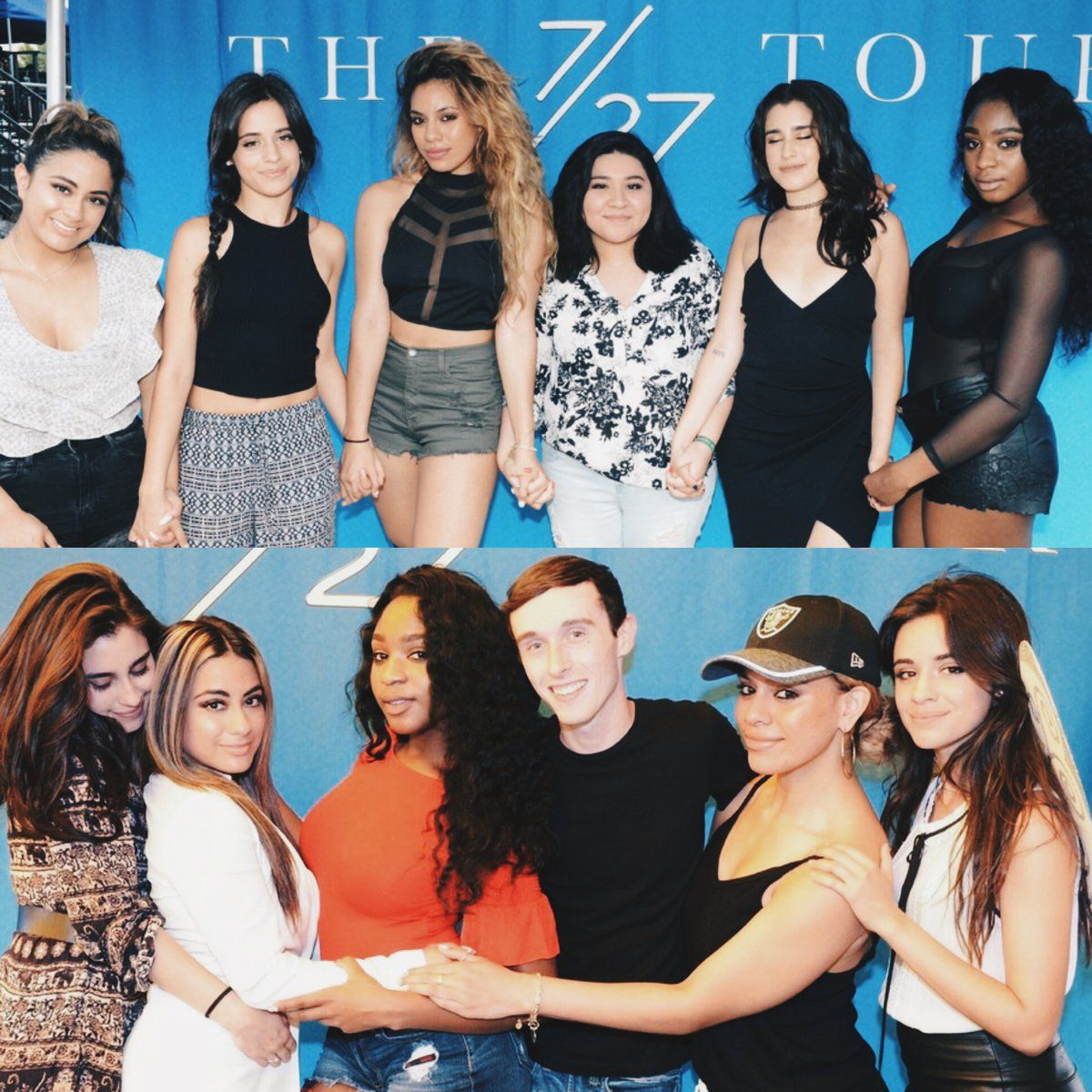 Fifth harmony with fans at meet and greet 5h meet and greet fifth harmony with fans at meet and greet m4hsunfo