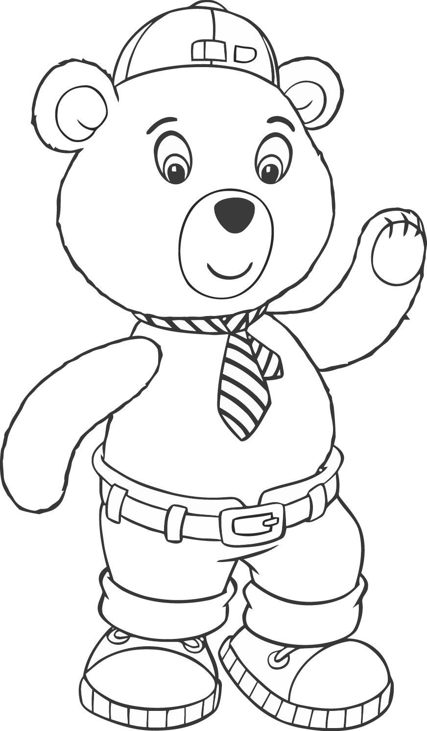 Noddy 99 Mcoloring Coloring Page Mcoloring Infantil Riscos