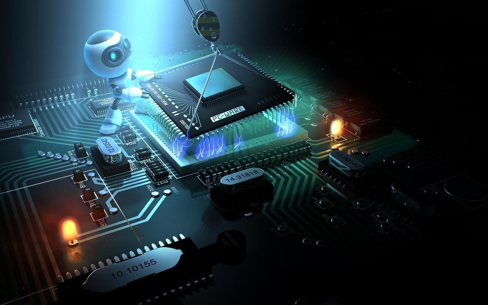 Pin Oleh Suraj Singh Di Technology Perangkat Lunak Electronics Projects Teknologi Komputer