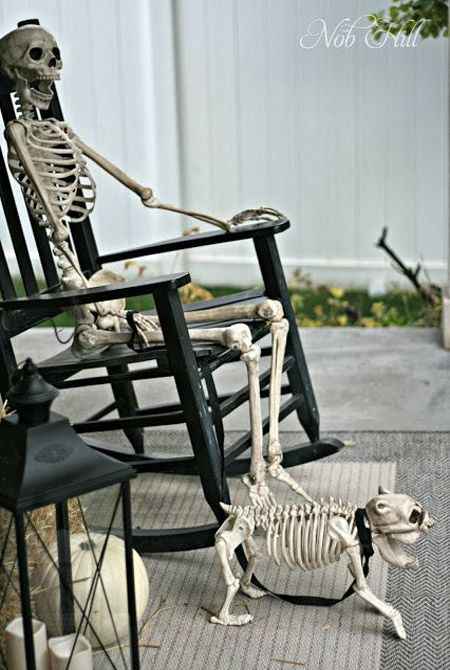 Decorating your porch for the haunting holiday can be a great way to