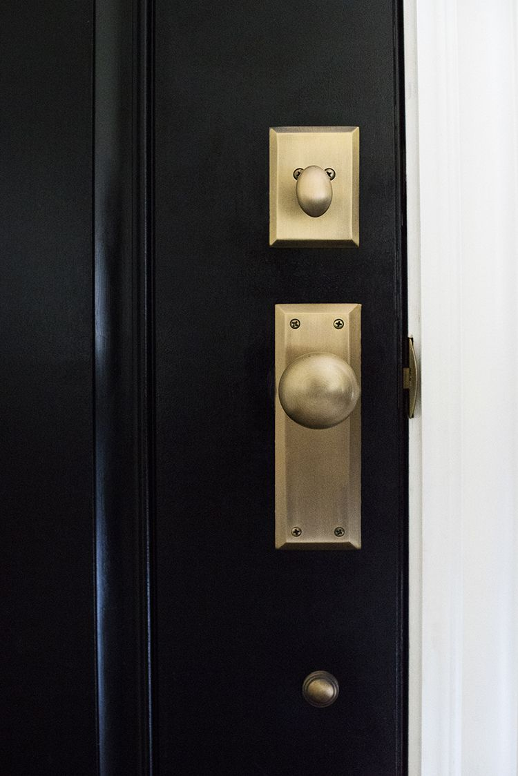 How we choose hardware room for tuesday blog i n s p i r a t i o n pinterest doors for Door handles for exterior doors