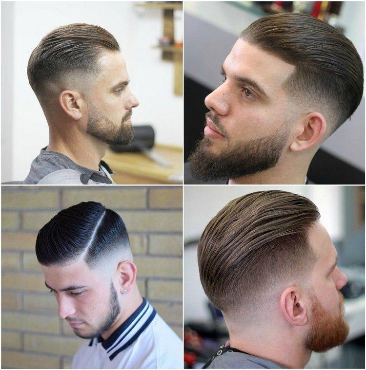 Haare nach hinten gelen