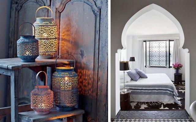 Estilo marroqu o estilo rabe decoraci n marroki - Decoracion arabe interiores ...