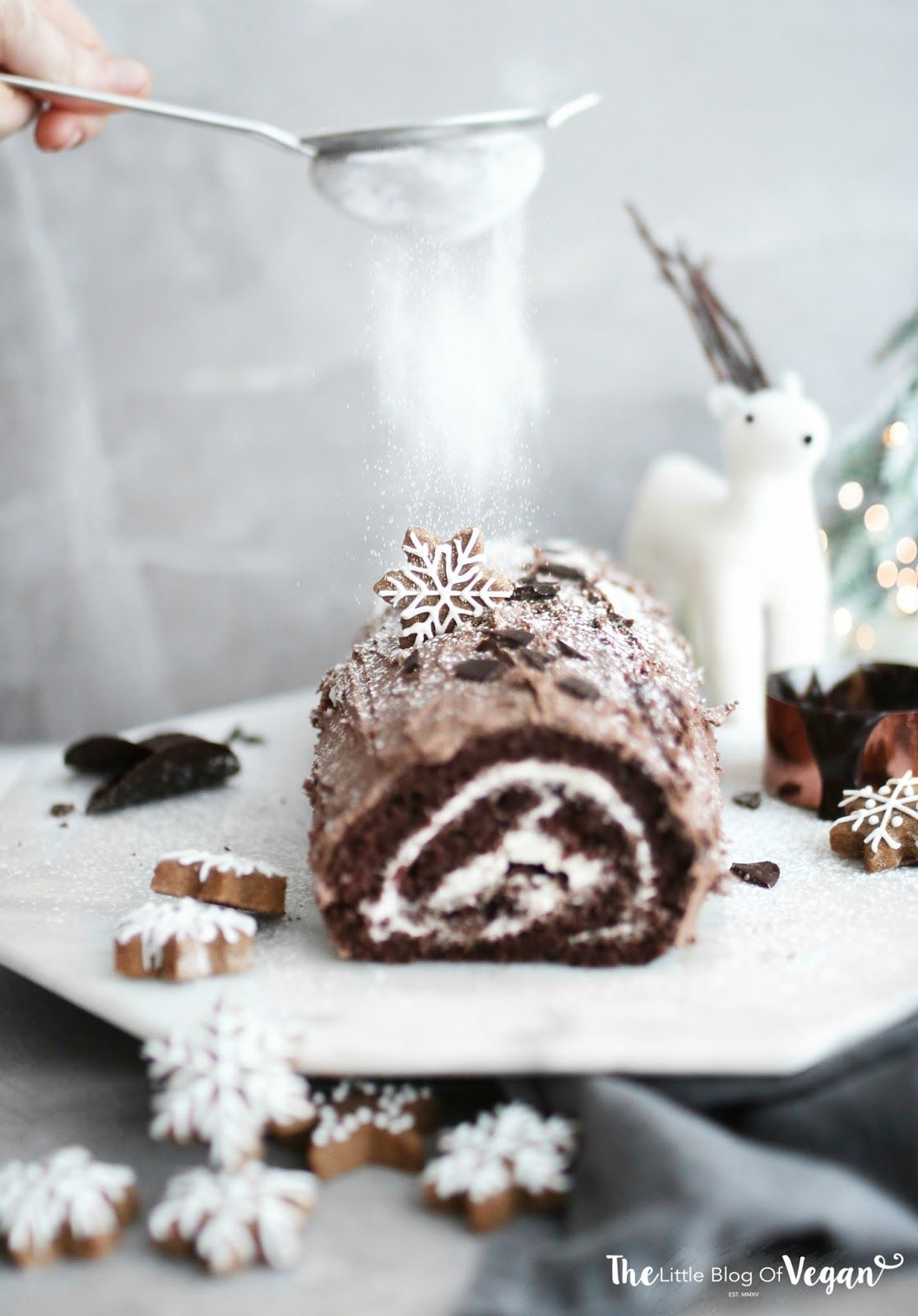 The best vegan yule log recipe