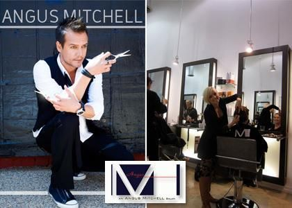 Angus Mitchell Owner Of The Award Winning Angus M Salon In Beverly Hills And Co Owner Of Paul Mitchell Systems Chos Salon Decor How To Make Hair Salon Design