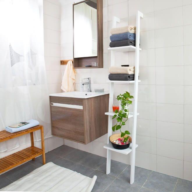 Great Resultado De Imagem Para Leaning Ladder Bathroom