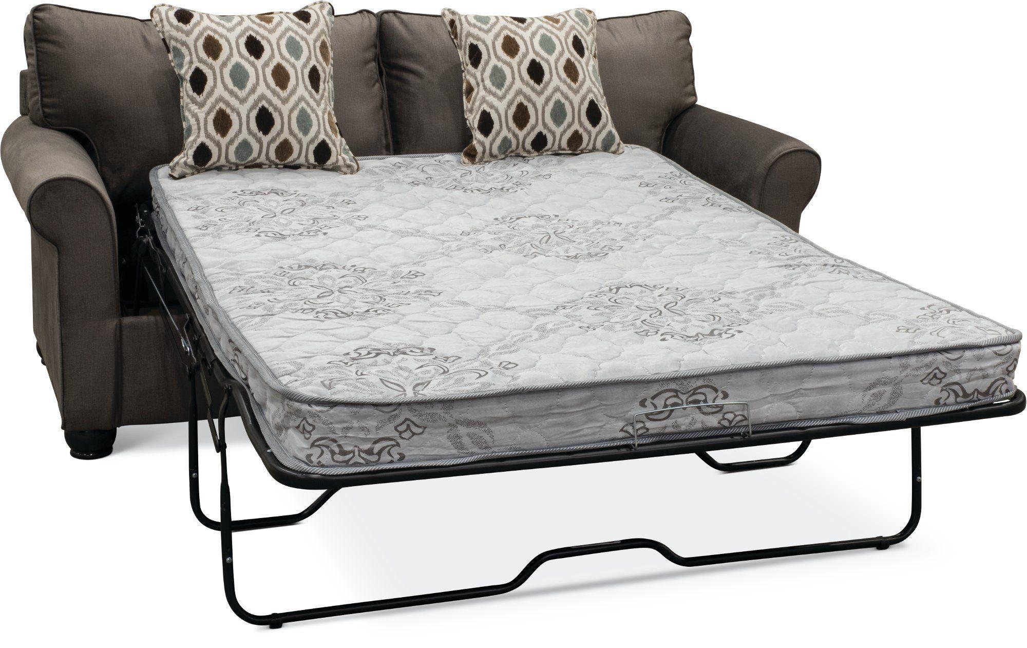 Smoke Gray Full Sofa Bed Jojo Sofa Bed Sofa Mattress Dimensions