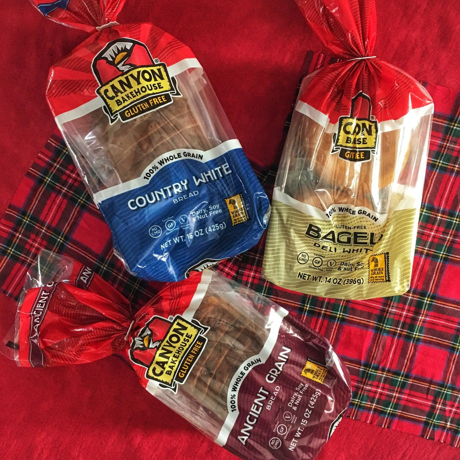 Canyon Bakehouse StayFresh Packaging Gluten free bakery