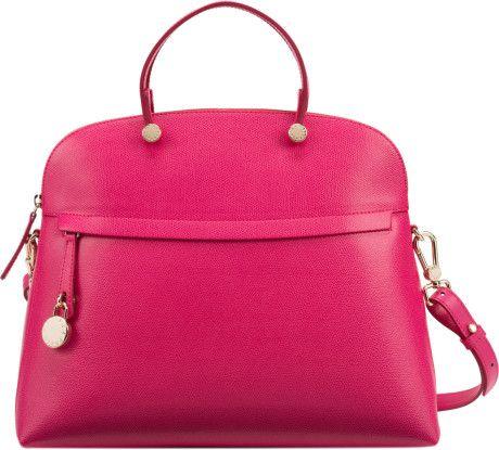 d1ba0e351 Furla Piper Satchel in Pink (rose) - Lyst | Handbags, I love ...