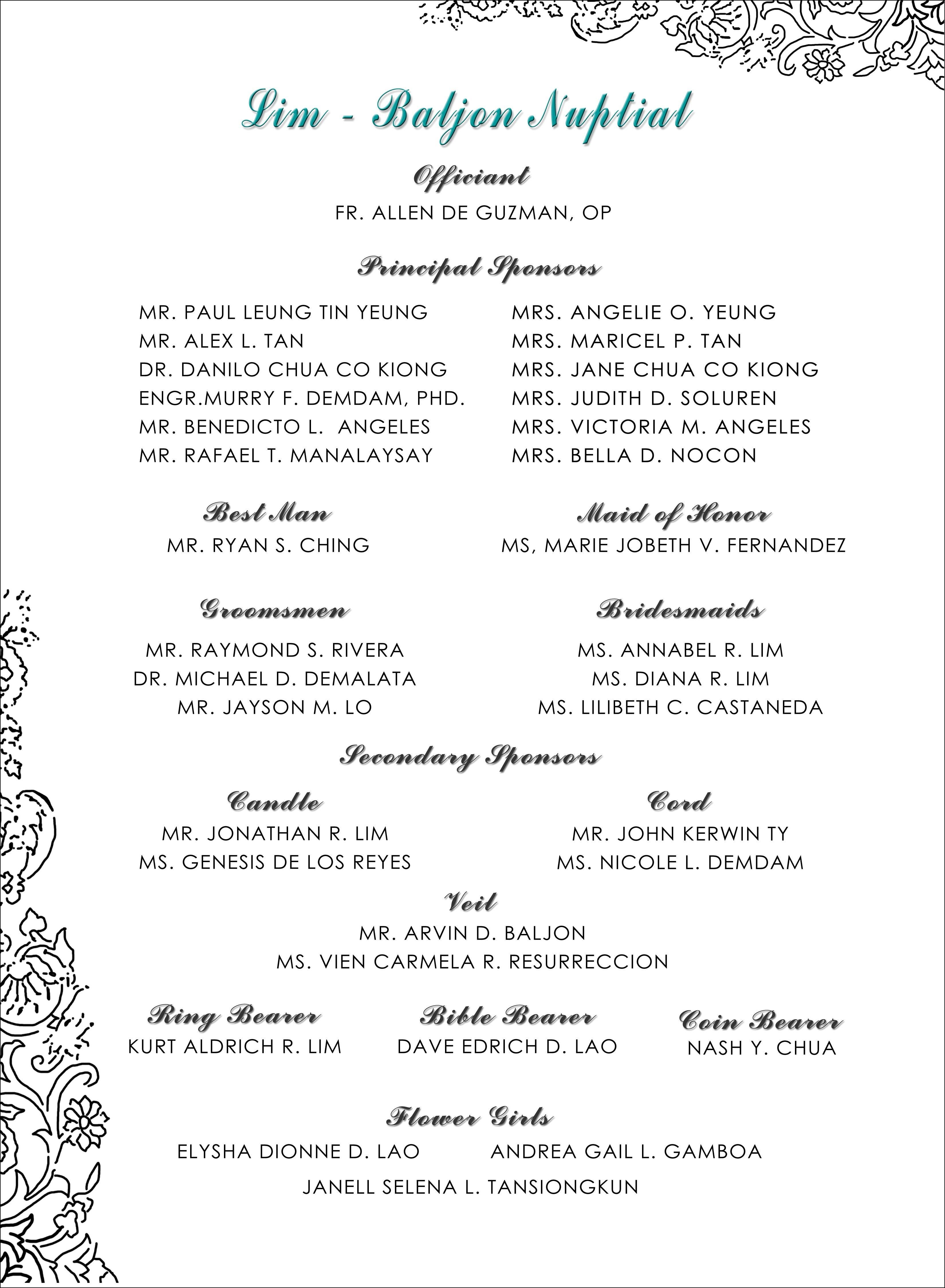 Wedding Invitation With Sponsors Wedding Invitation List Beach Wedding Invitation Wording Wedding Invitation Card Design