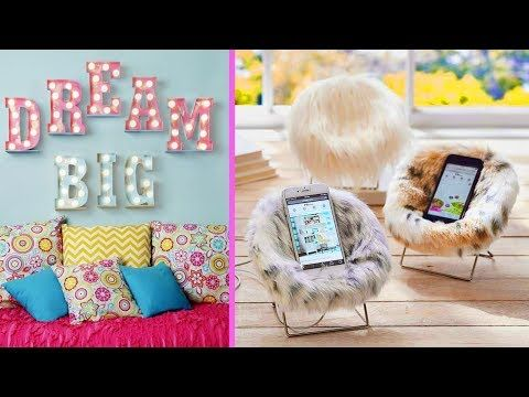 5 manualidades tumblr para decorar tu cuarto 2 youtube for Como decorar el cuarto de mi hija