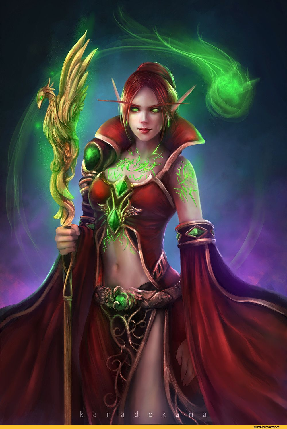 Fantasy Art Blood Elf