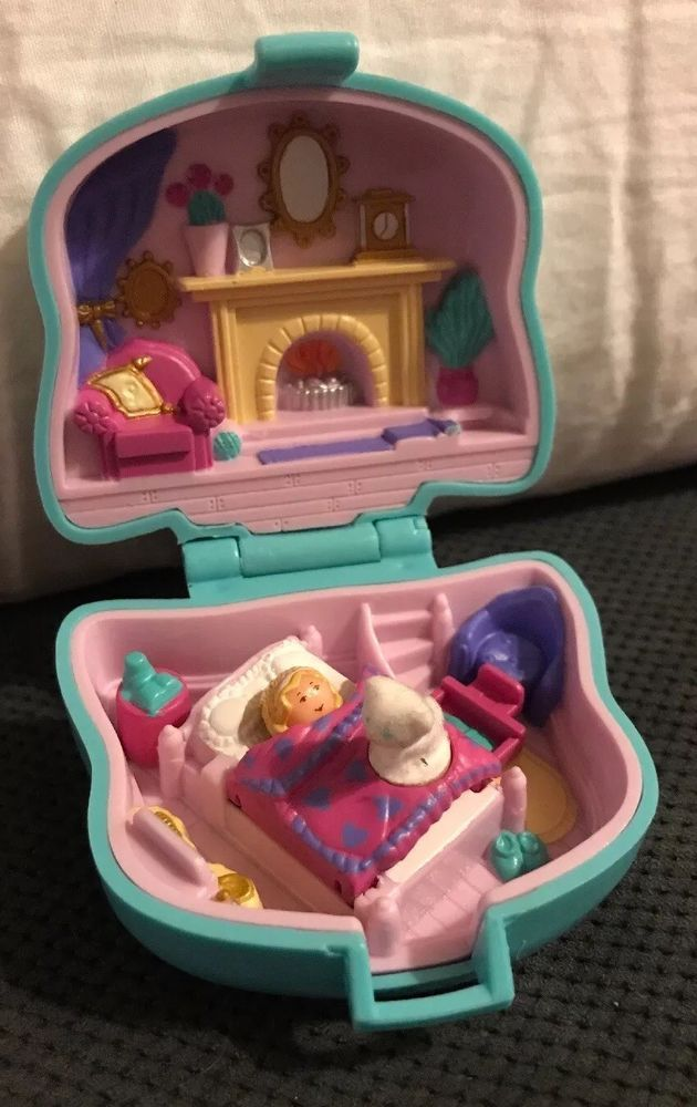 Polly Pockets For Sale: 1993 Polly Pocket Bluebird Cuddly Kitty Pet Parade Compact