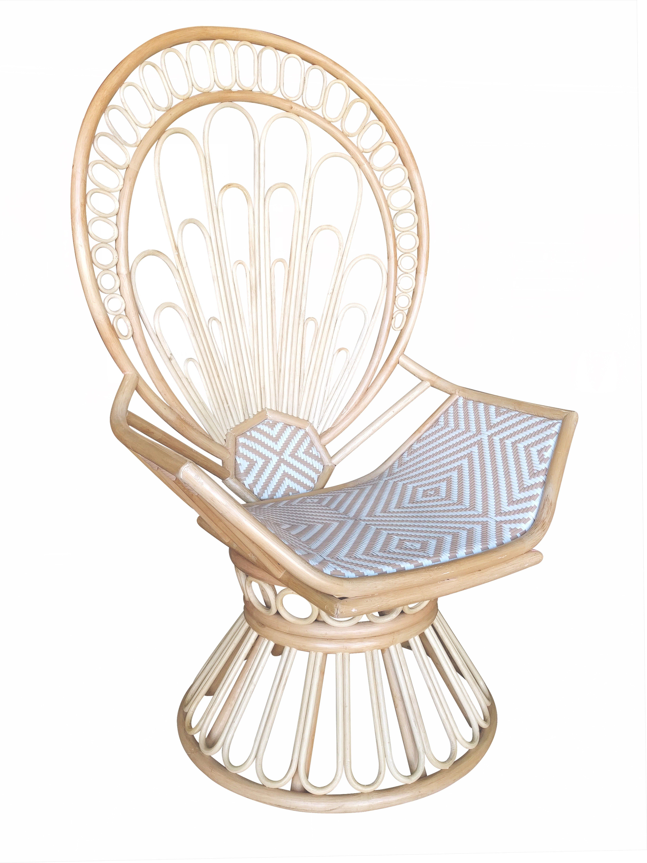 Zahara Swivel Chair Desk Wheel Replacement Justina Blakeney Peacock Navy And
