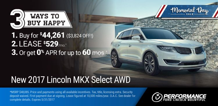 New 2017 Lincoln Mkx Memorial Day Sale 2017 Mkx 3 Ways To Buy