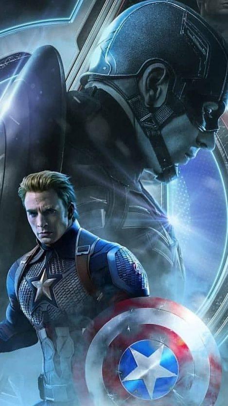 Captain America The Endgame iPhone Wallpaper Free