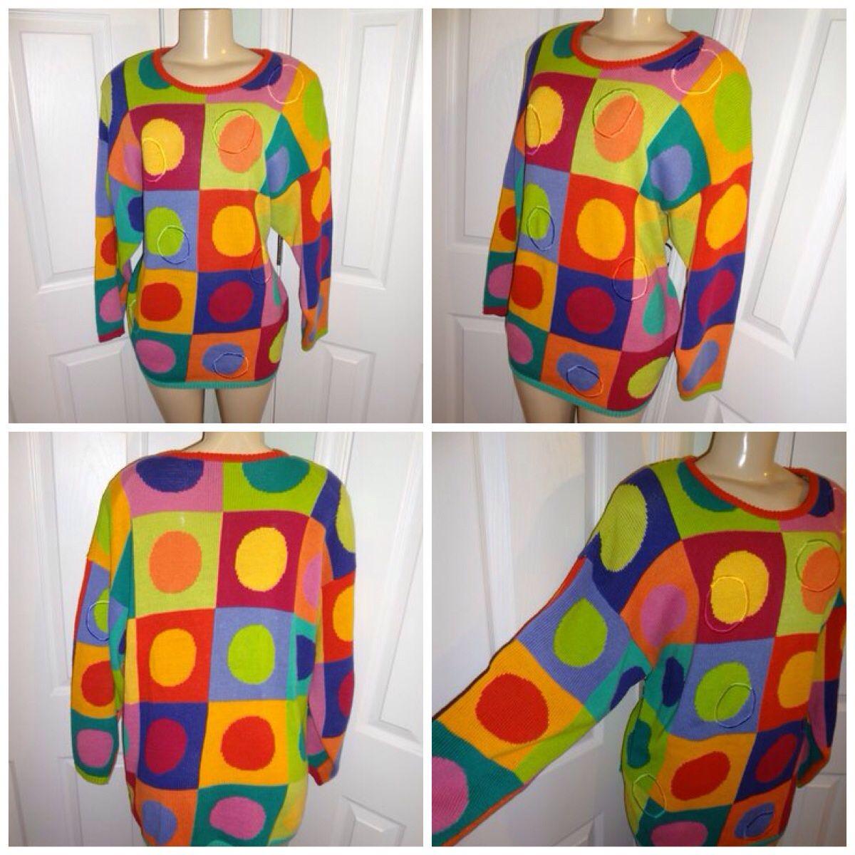 Colorful fun vintage plus size pieces