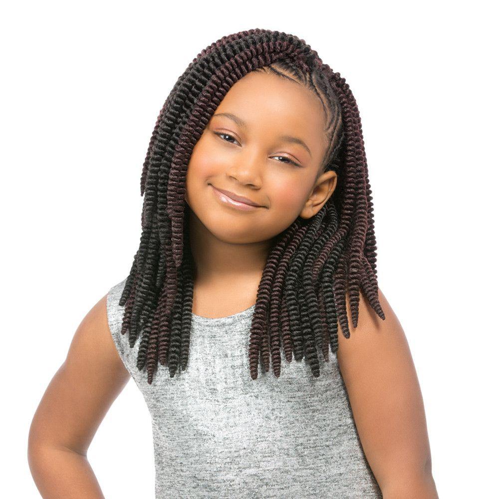Sensationnel Synthetic Crochet Braiding Hair KIDS SASSY 12\