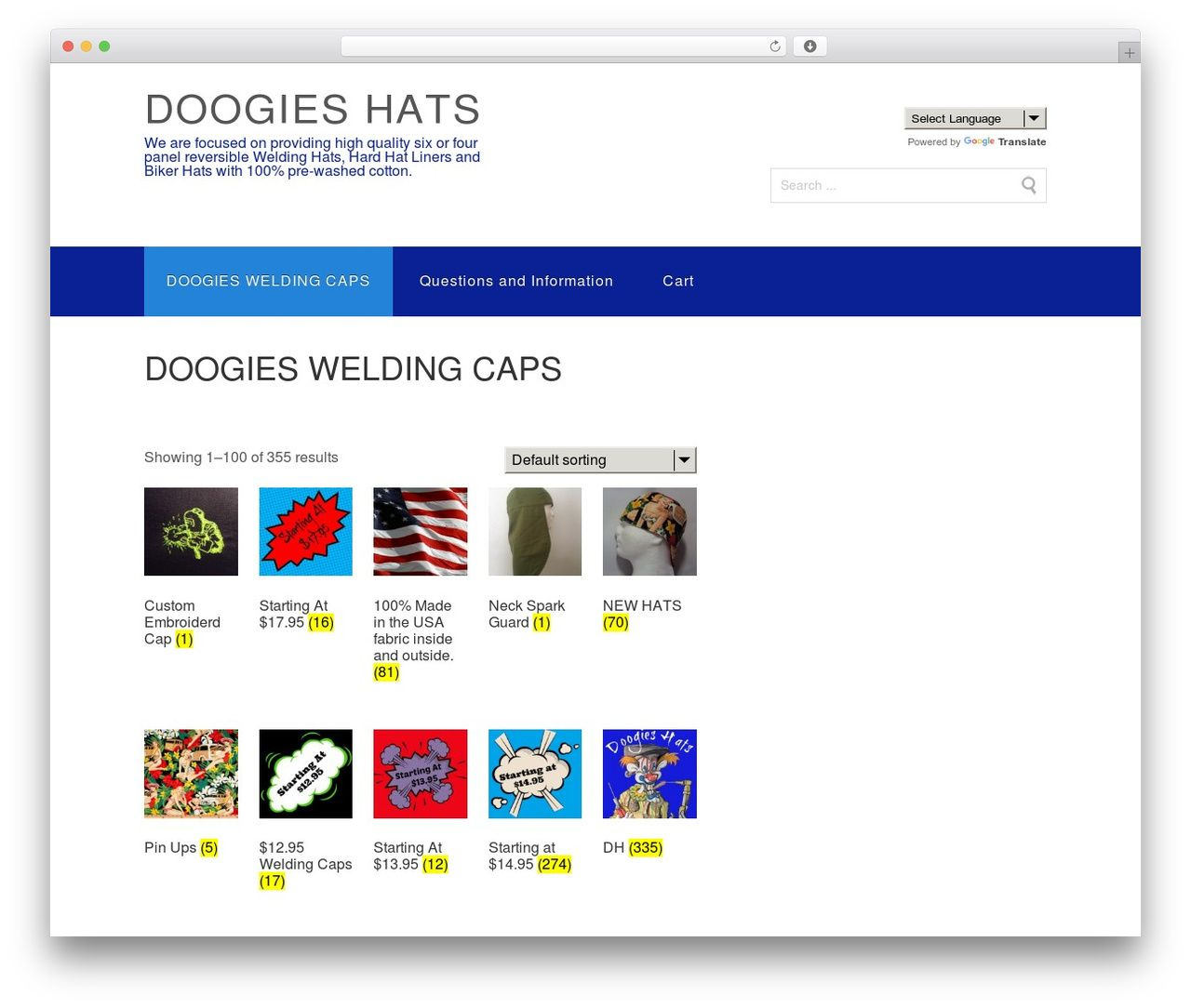 Theme WordPress Shopping - doogieshats.com  ed3ed60a4e60