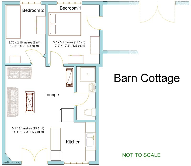 Pole barn with living quarters floor plans floor matttroy for Live in barn plans