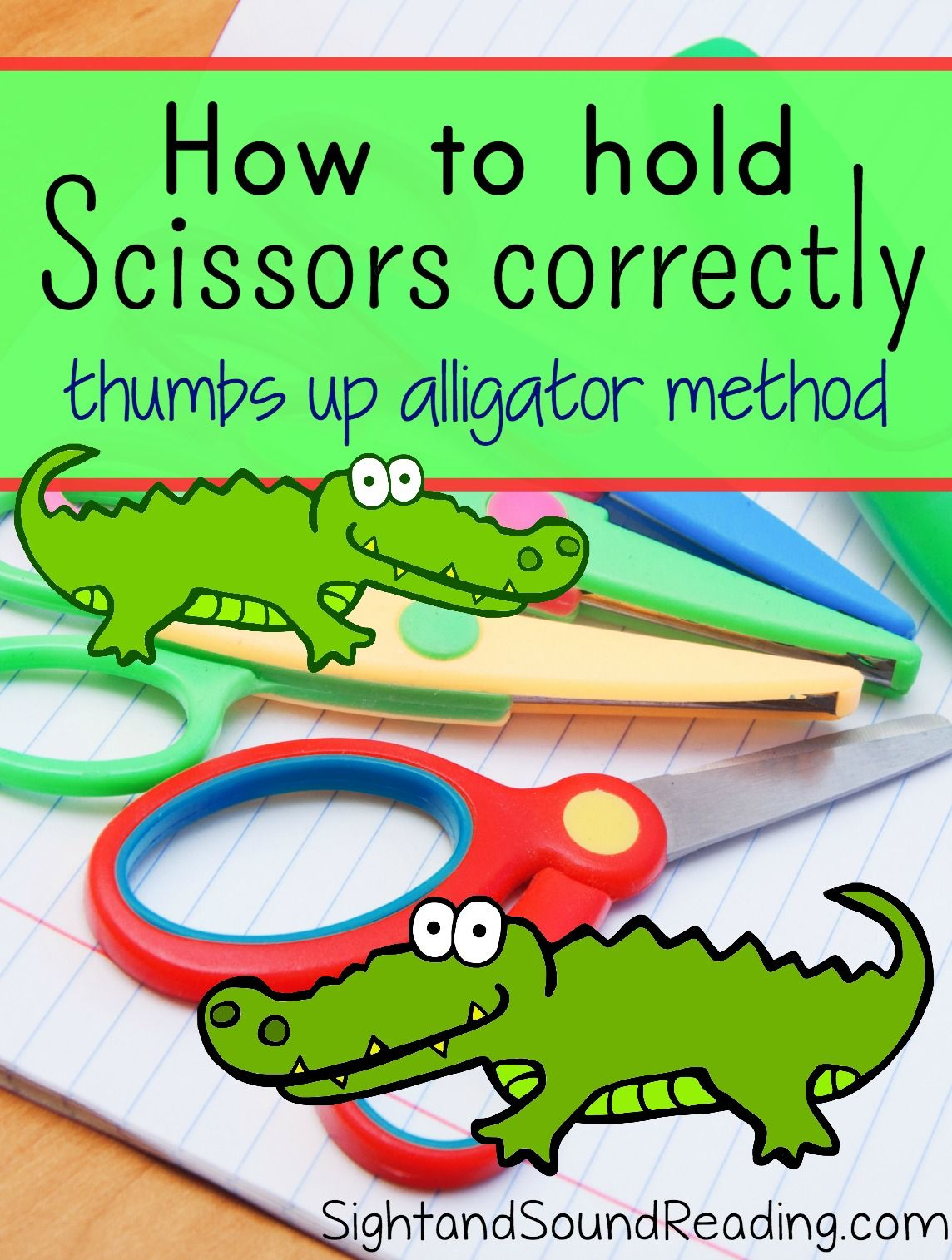 Teach A Child How To Hold Scissors Correctly Friendly