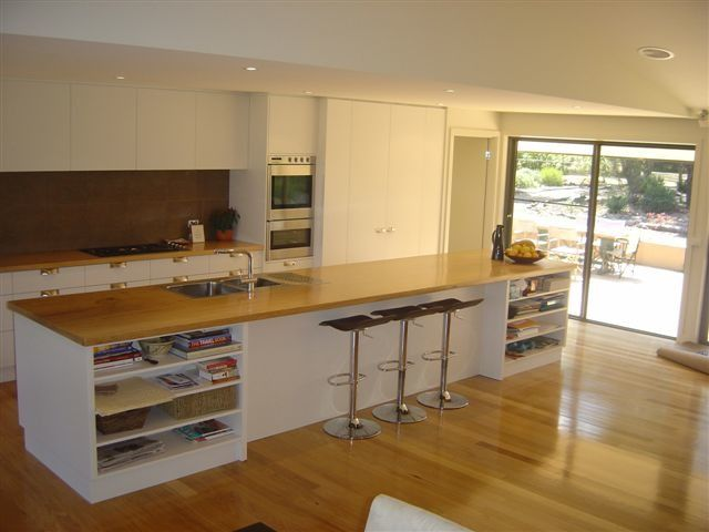 mountain ash solid wood benchtop from bowerbird timber victoria. Interior Design Ideas. Home Design Ideas