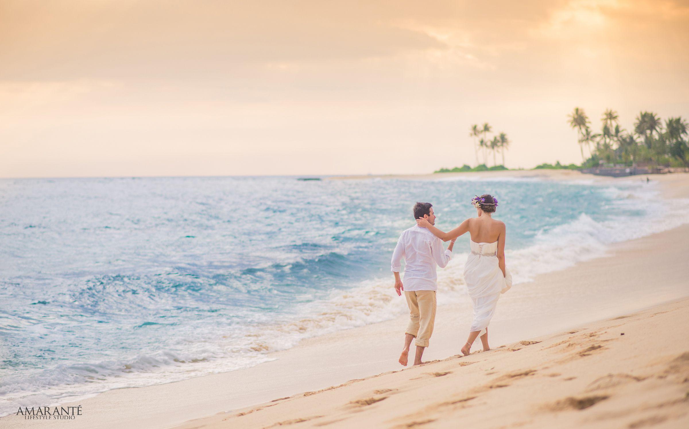 Lea & Igor <3 #amarantelifestyle #destinationweddings #weddingsinsrilanka #beachweddings #marrymebarefoot #travelcouple #gallesrilanka #mirissa #srilanka